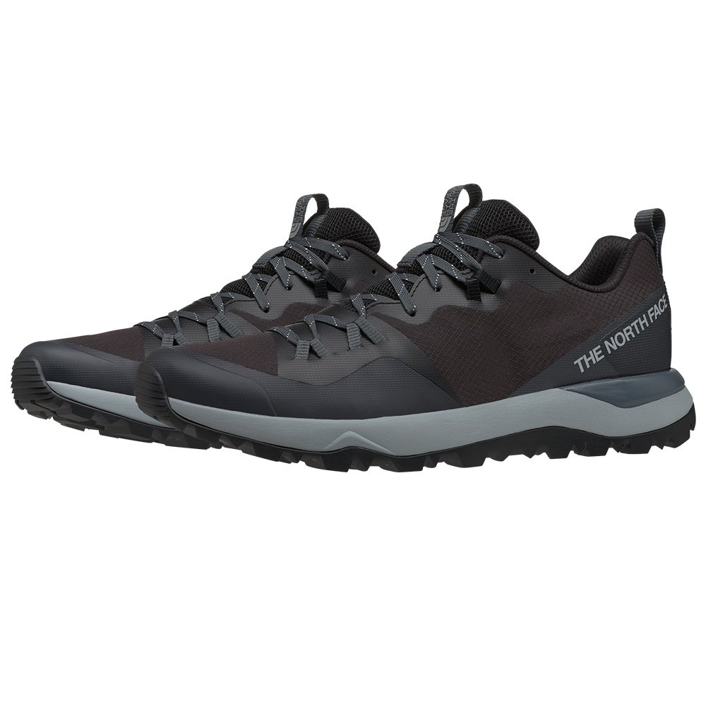 The North Face Activist Lite Hiking Shoe (Men's) - TNF Black/Dark Shadow Grey