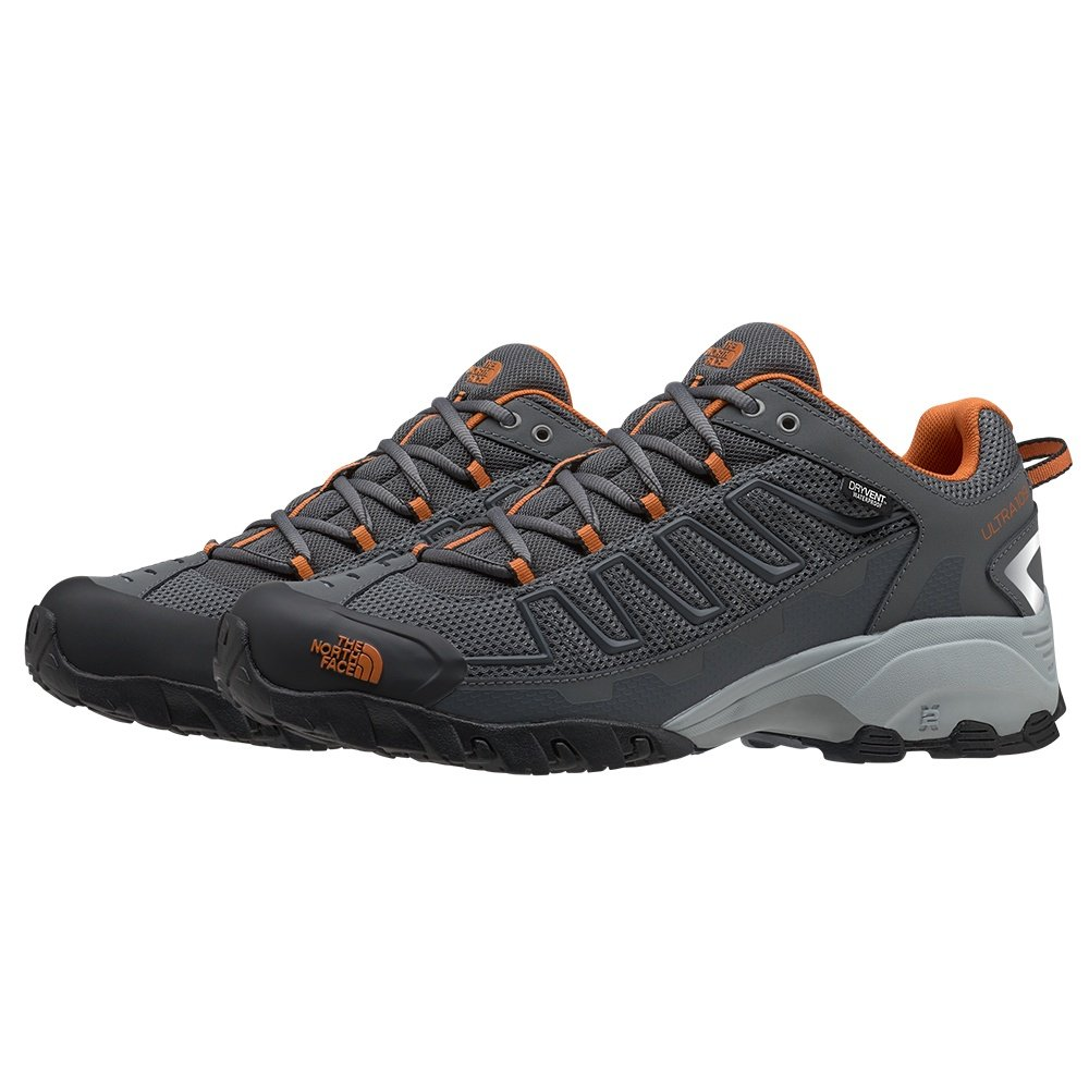 The North Face Ultra 109 Waterproof Shoe (Men's) - Zinc Grey/Burnt Orange