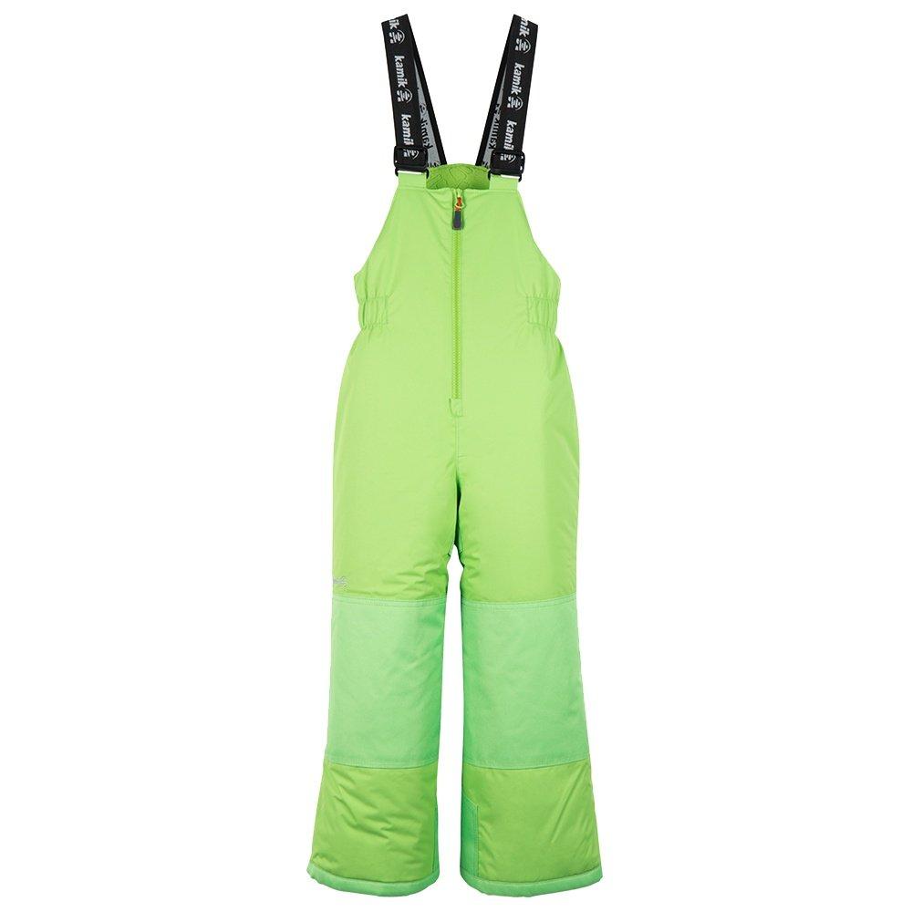 Kamik Winkie Insulated Ski Bib (Little Kids') - Lime