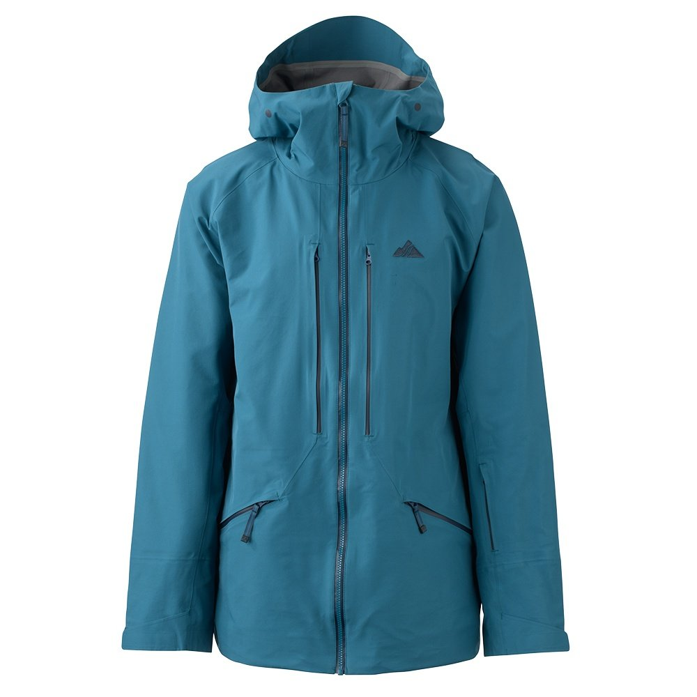 Strafe Nomad Shell Ski Jacket (Men's) - Turkish Blue