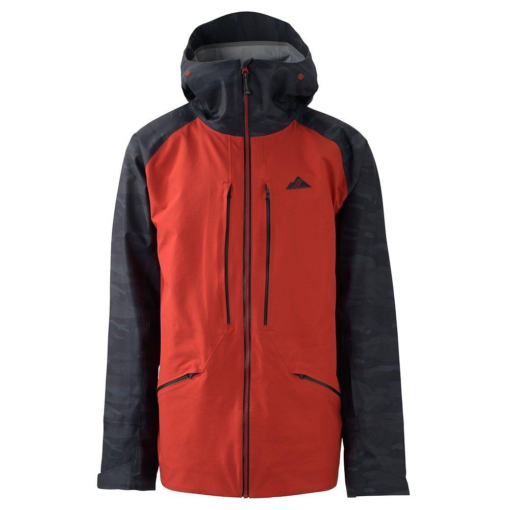 Strafe Nomad Shell Ski Jacket (Men's) - Deep Red