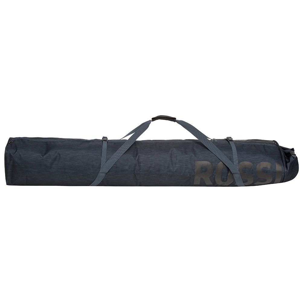 Rossignol Premium 2 Pair Extendable Padded Ski Bag - Black