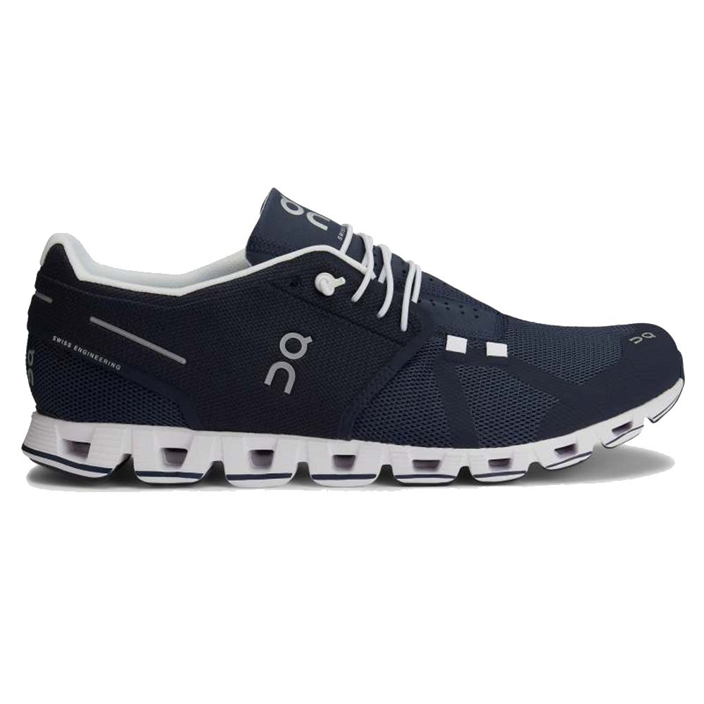 On Cloud Running Shoe (Men's) - Navy/White