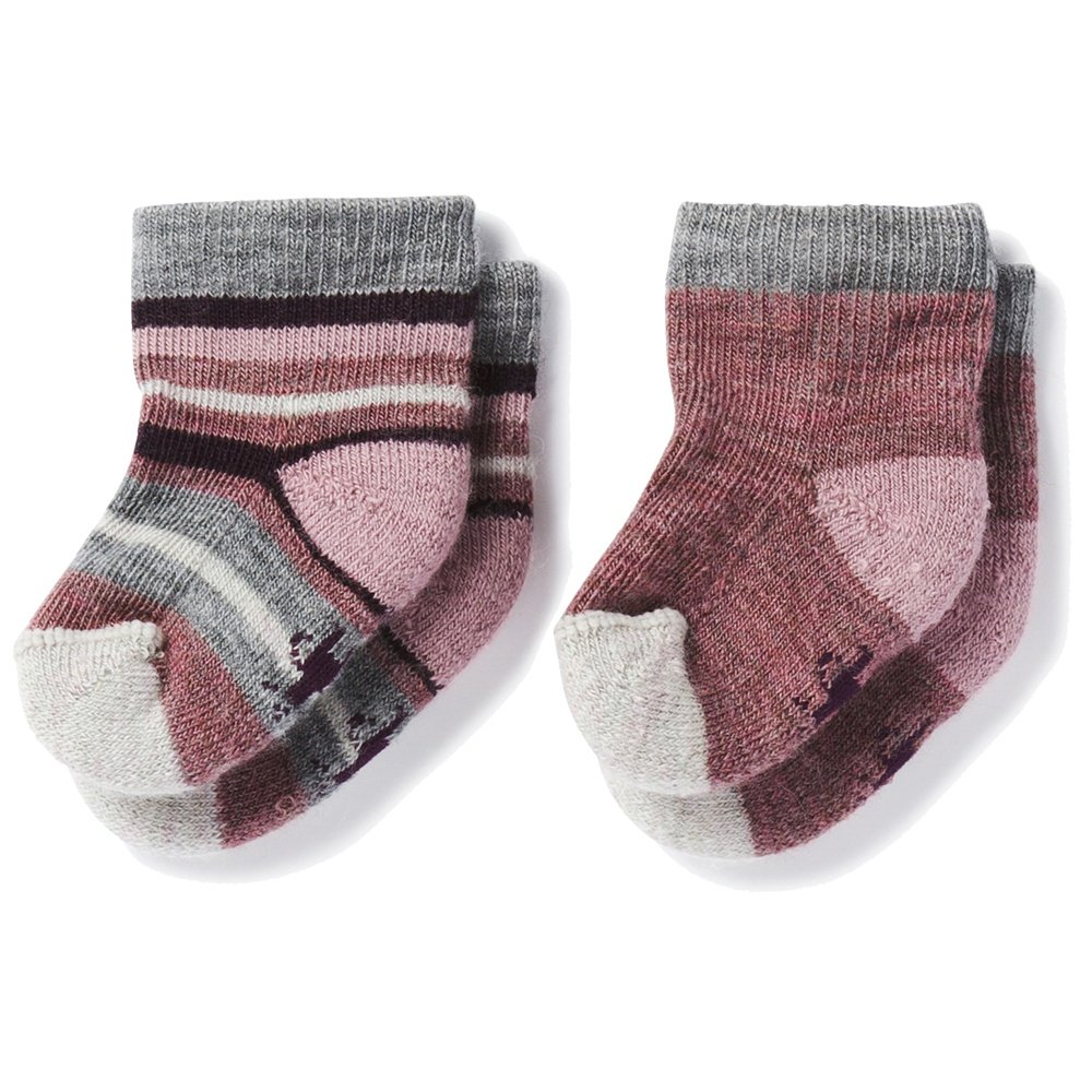 Smart Wool Bootie Batch 2-Pack (Little Kids') - Nostalgia Rose