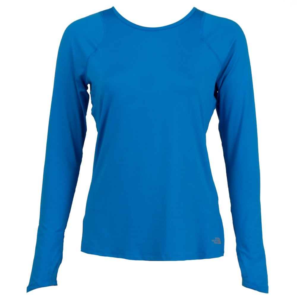 The North Face Essential Long Sleeve Shirt (Women's) - Clear Lake Blue