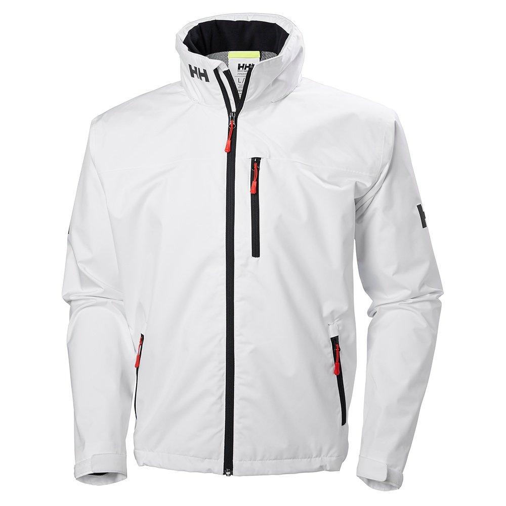 Helly Hansen Crew Hooded Rain Jacket (Men's) - White