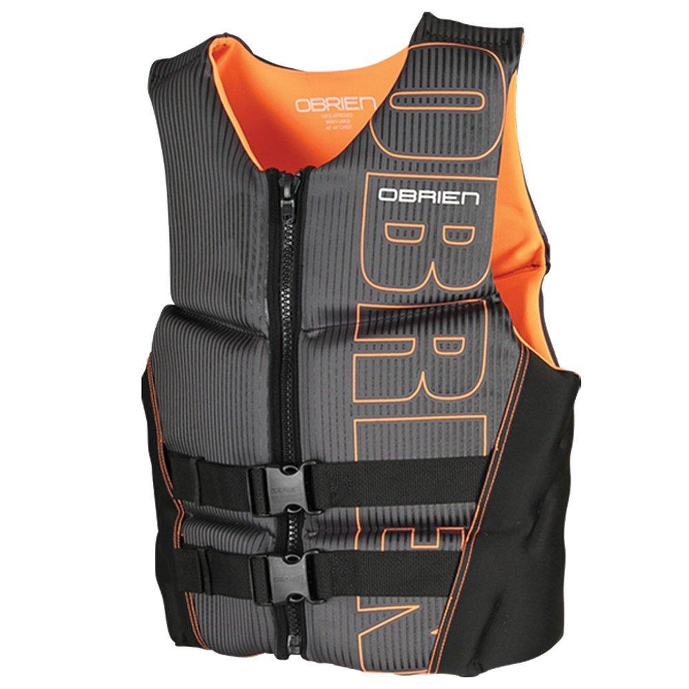 O'Brien V-Back Flex Biolite Life Vest (Men's) - Black/Orange