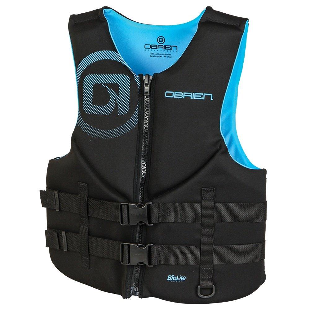 O'Brien Traditional Life Vest (Men's) - Cyan