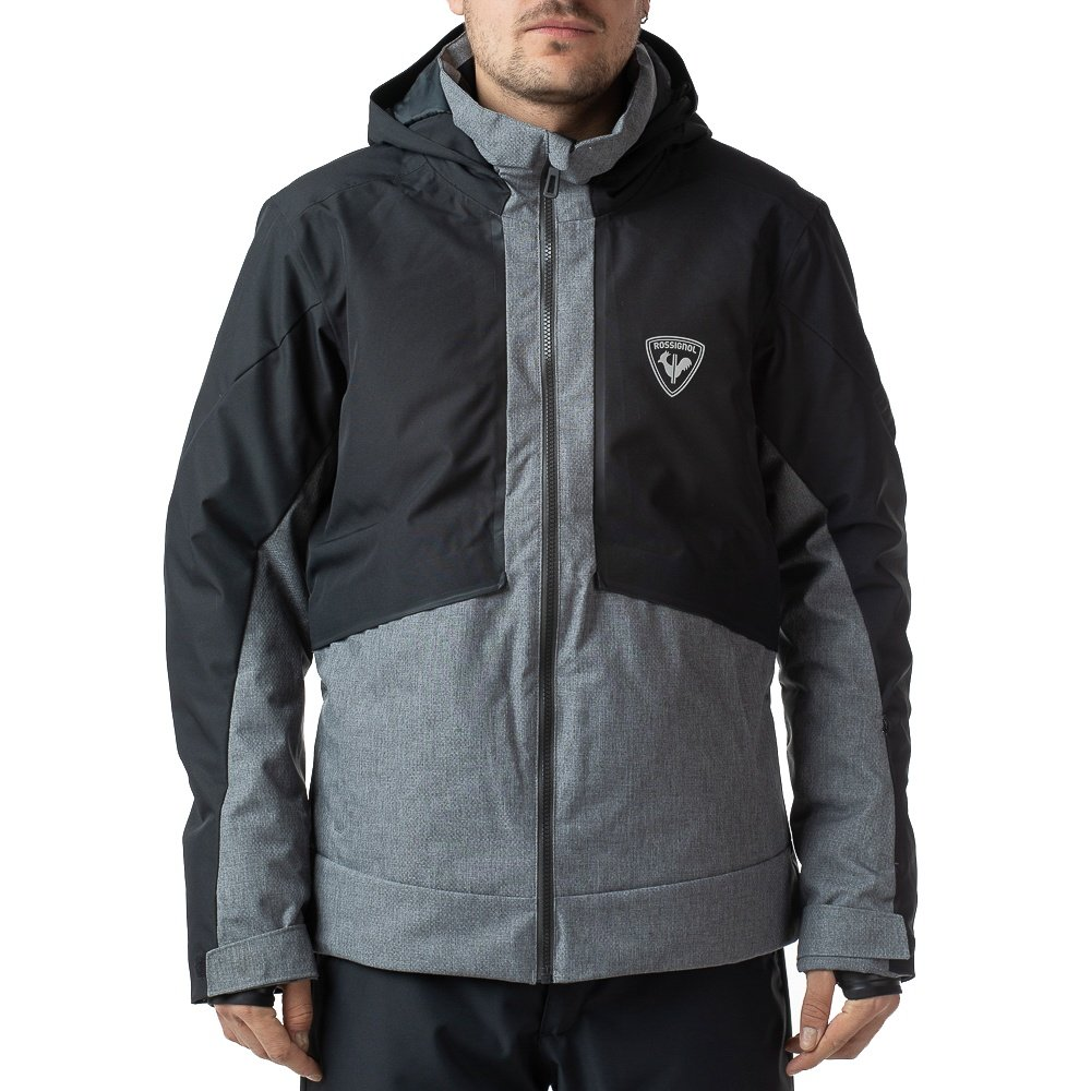Rossignol Masse Heather Insulated Ski Jacket (Men's) - Heather Gray