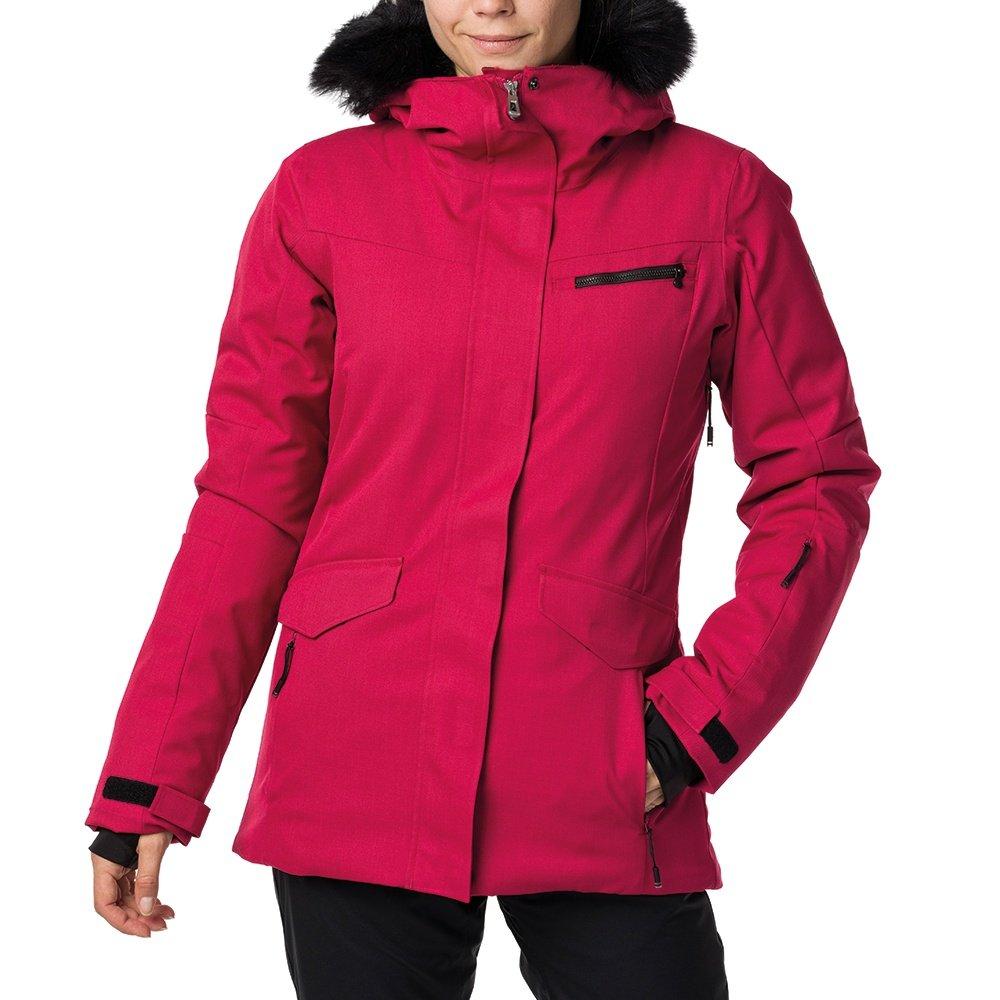 Rossignol Parka Insulated Ski Jacket (Women's) - Raspberry