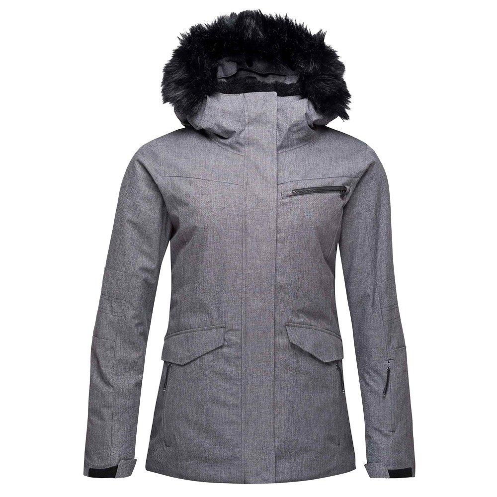 Rossignol Heather Parka Insulated Ski Jacket (Women's) - Heather Gray