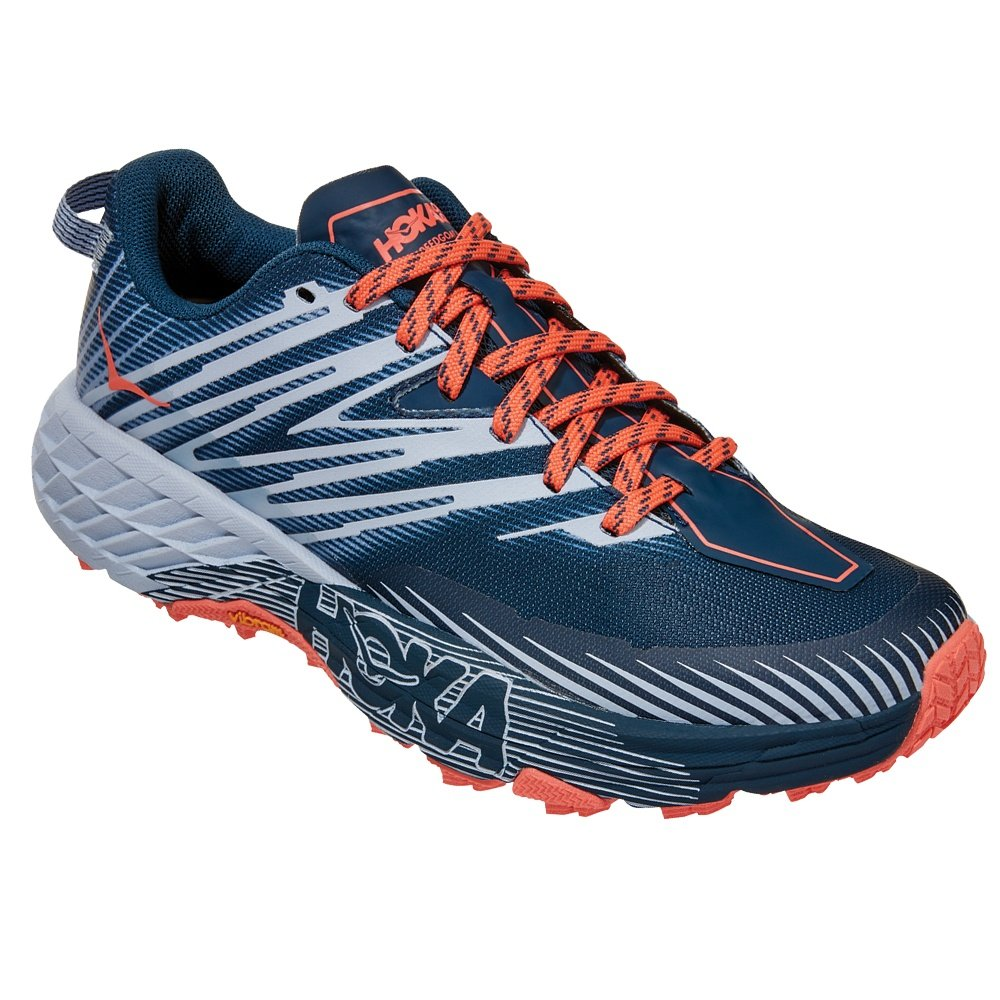 Hoka One One Speedgoat 4 Trail Running Shoe (Women's) - Majolica Blue/Heather