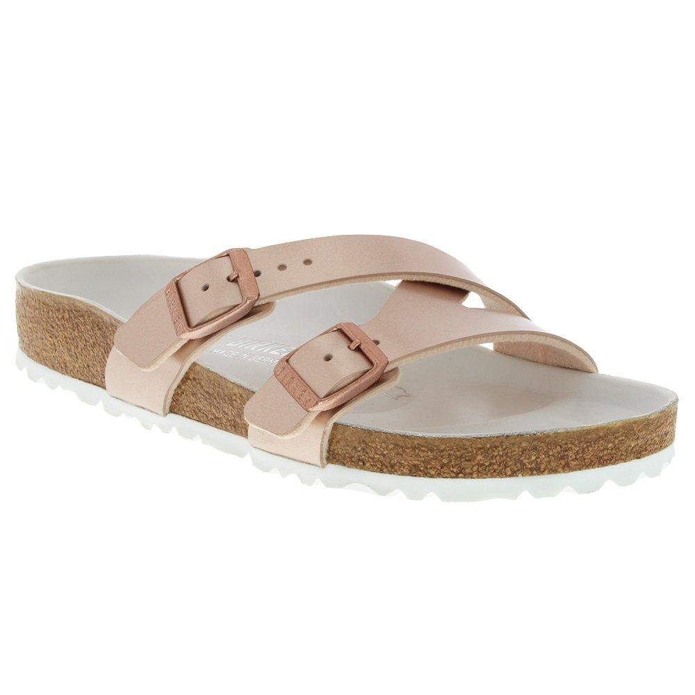 Birkenstock Yao Sandals (Women's) - Copper