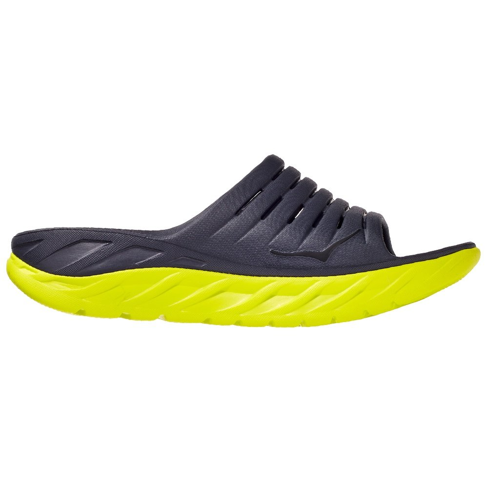 Hoka One One Ora Recovery Slide Sandals (Men's) - Odyssey Grey/Evening Primrose
