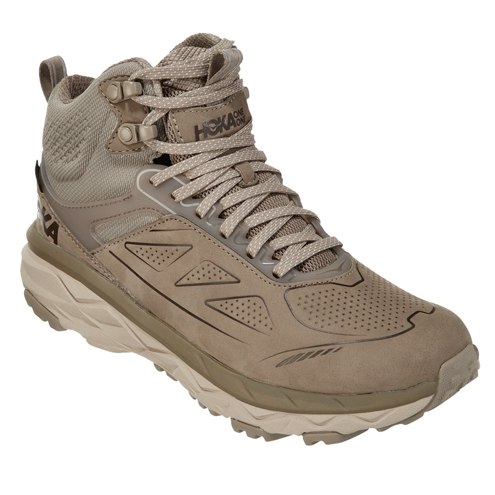 Hoka One One Challenger Mid GORE-TEX Hiking Boot (Women's) - Dune/Oxford Tan