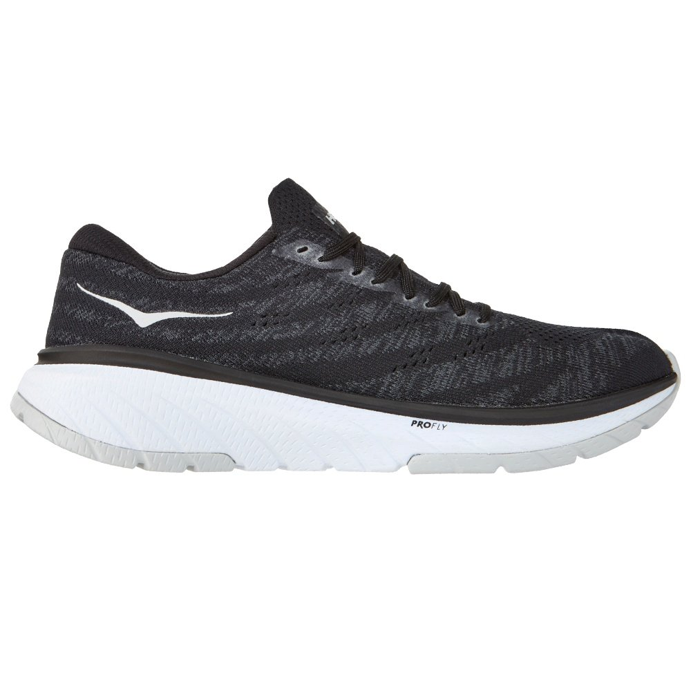 Hoka One One Cavu 3 Running Shoe (Men's) - Black/White