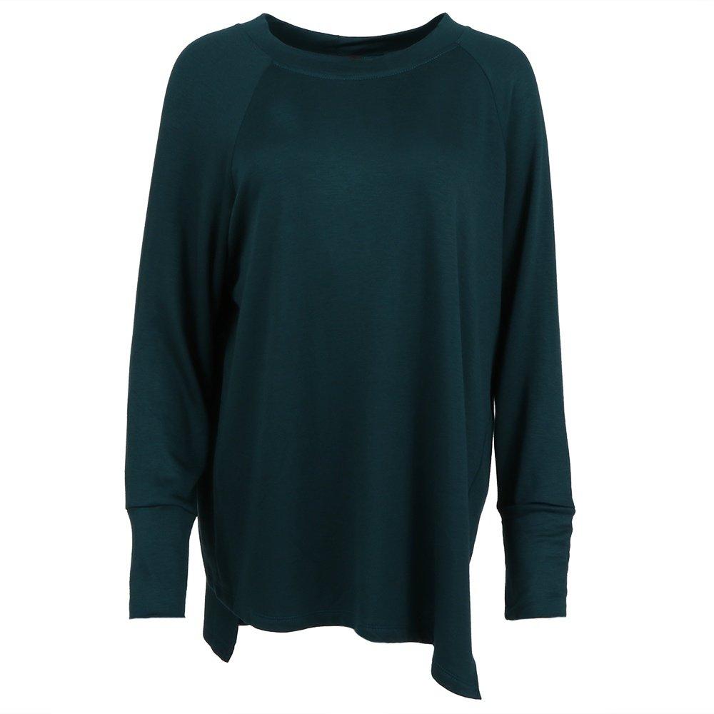 Yana K Delray Fleece Sweater (Women's) - Hunter Green