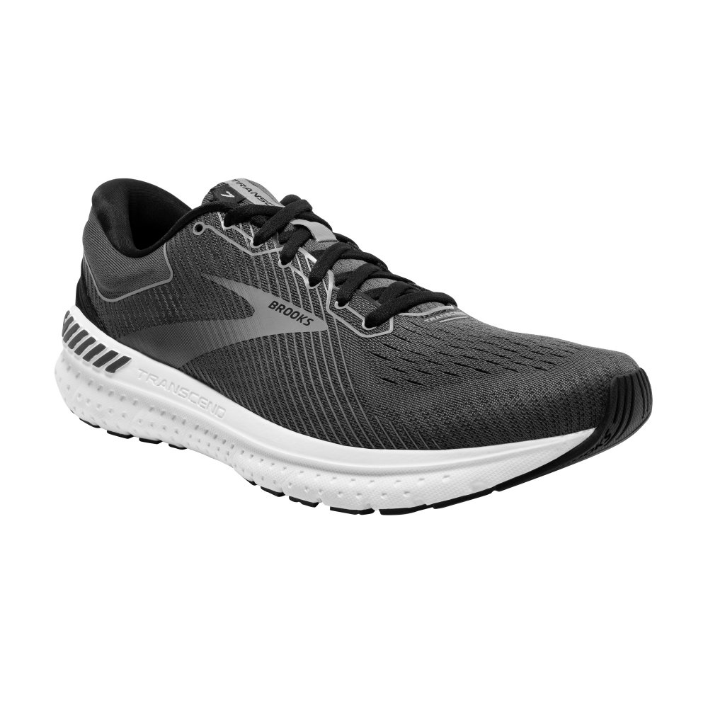 Brooks Transcend 7 Running Shoe (Men's) - Black/Ebony/Grey