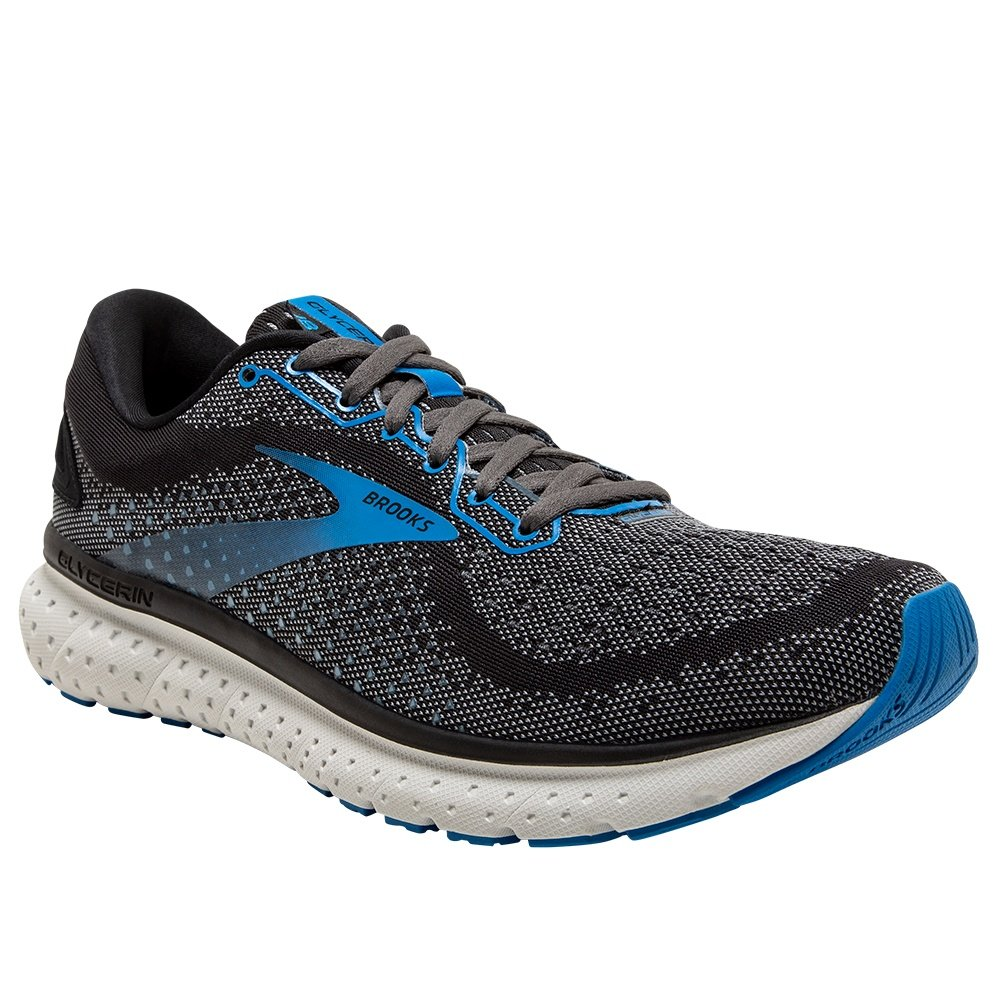 Brooks Glycerin 18 Running Shoe (Men's) - Black/Ebony/Blue