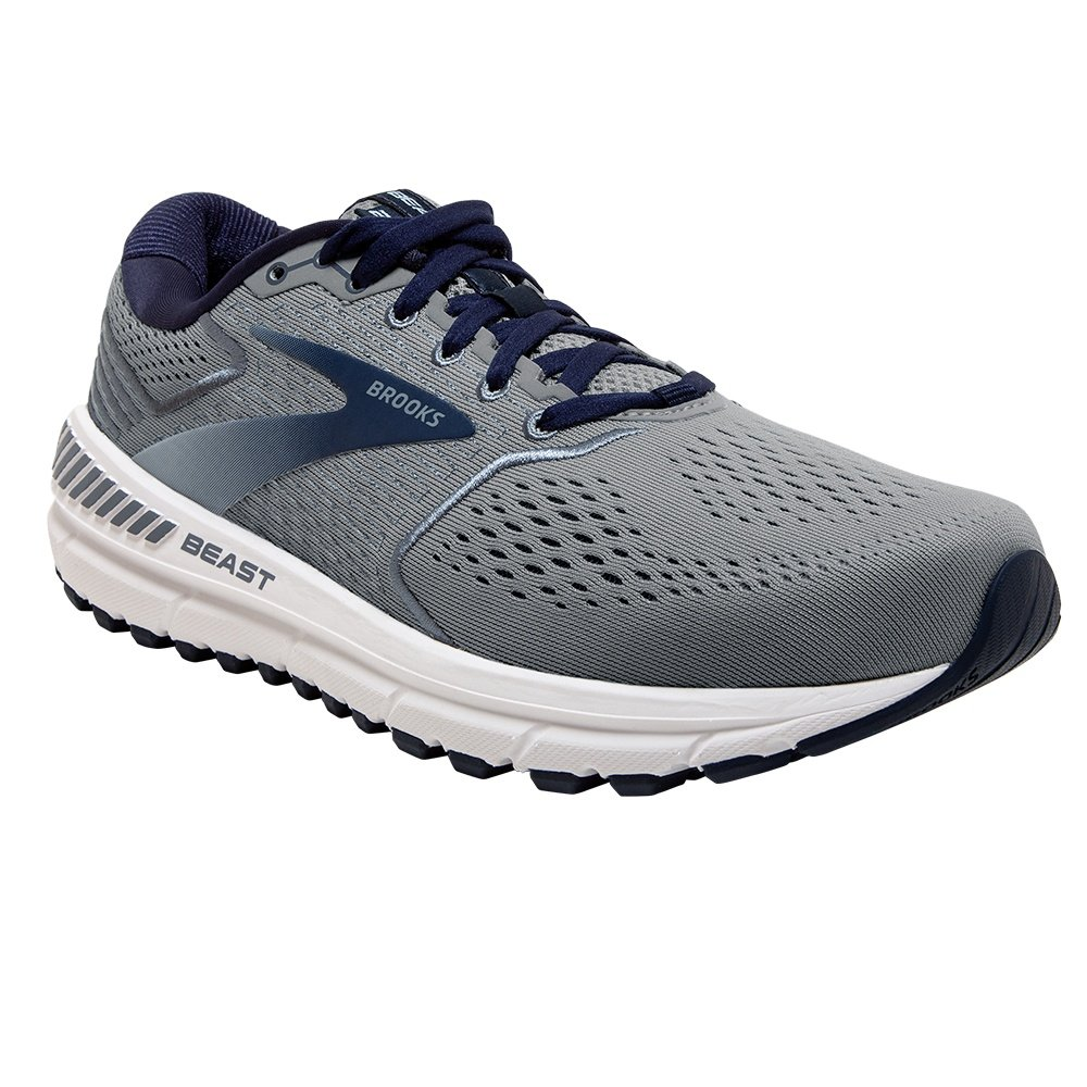 Brooks Beast 20 Running Shoe (Men's) - Blue/Grey/Peacoat