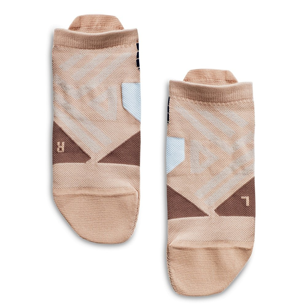 On Low Running Sock (Women's) - Rosebrown/Grey