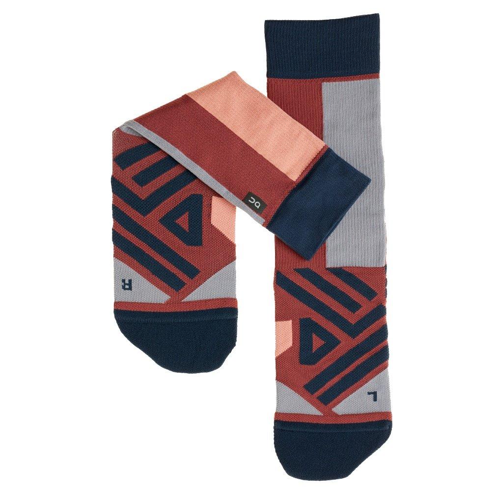On High Running Sock (Women's) - Ox/Navy