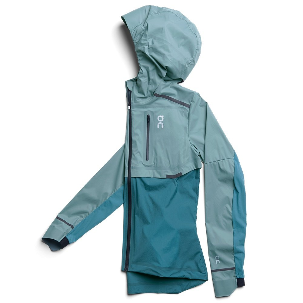 On Weather Running Jacket (Women's) - Sea/Storm