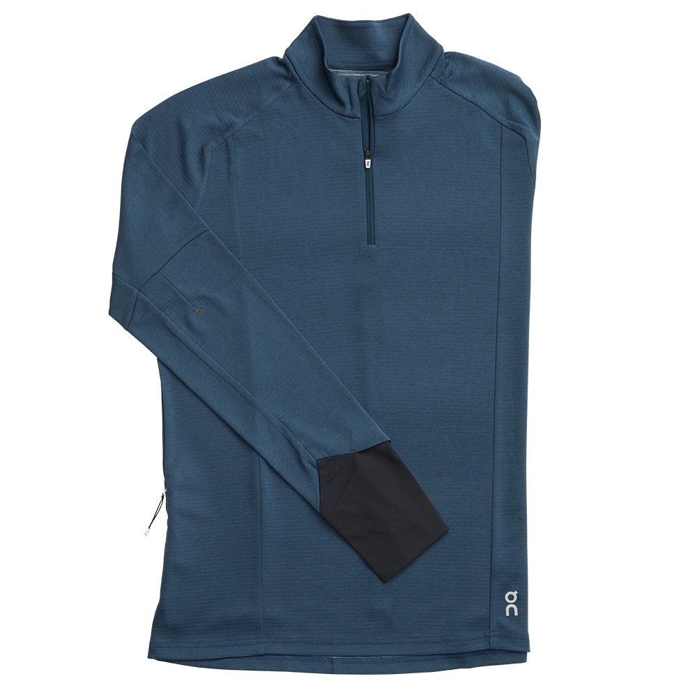 On Weather Running Shirt (Men's) - Navy/Black