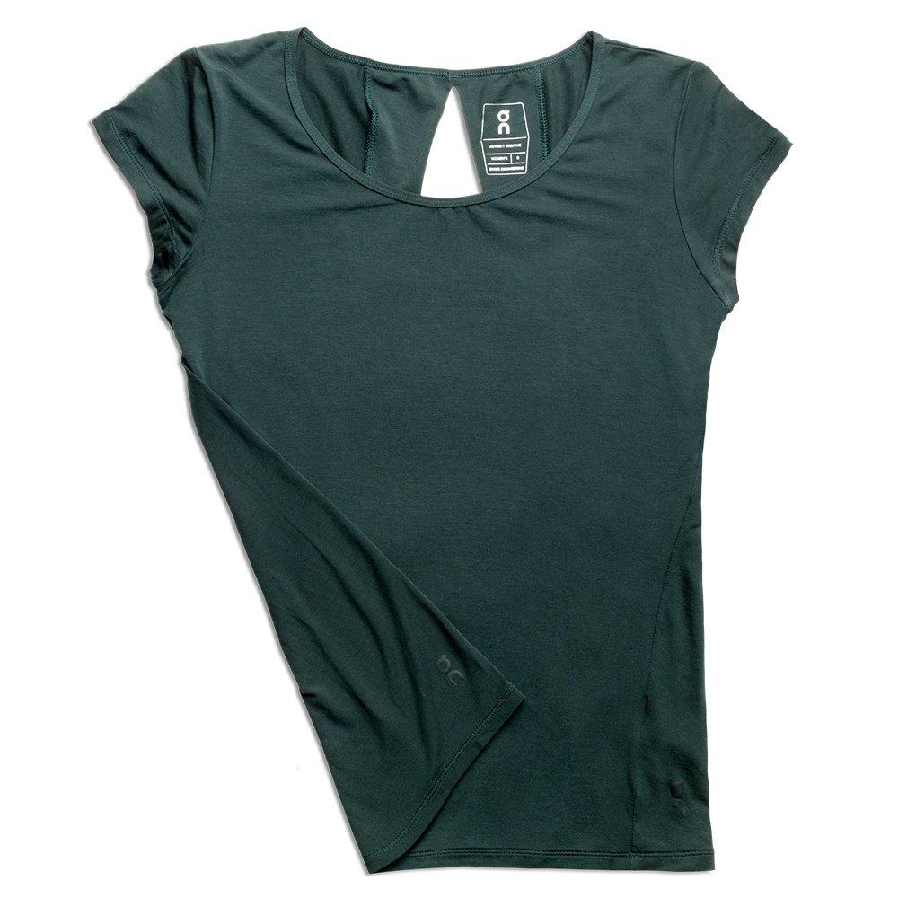 On Active-T Breathe Running Shirt (Women's) - Ivy