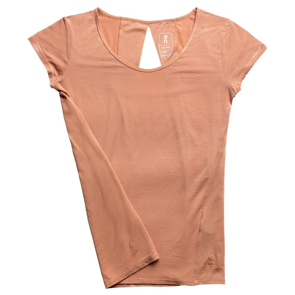 On Active-T Breathe Running Shirt (Women's) - Blush