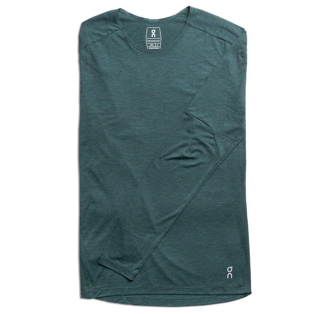 On Performance Long-T Running Shirt (Men's) - Evergreen