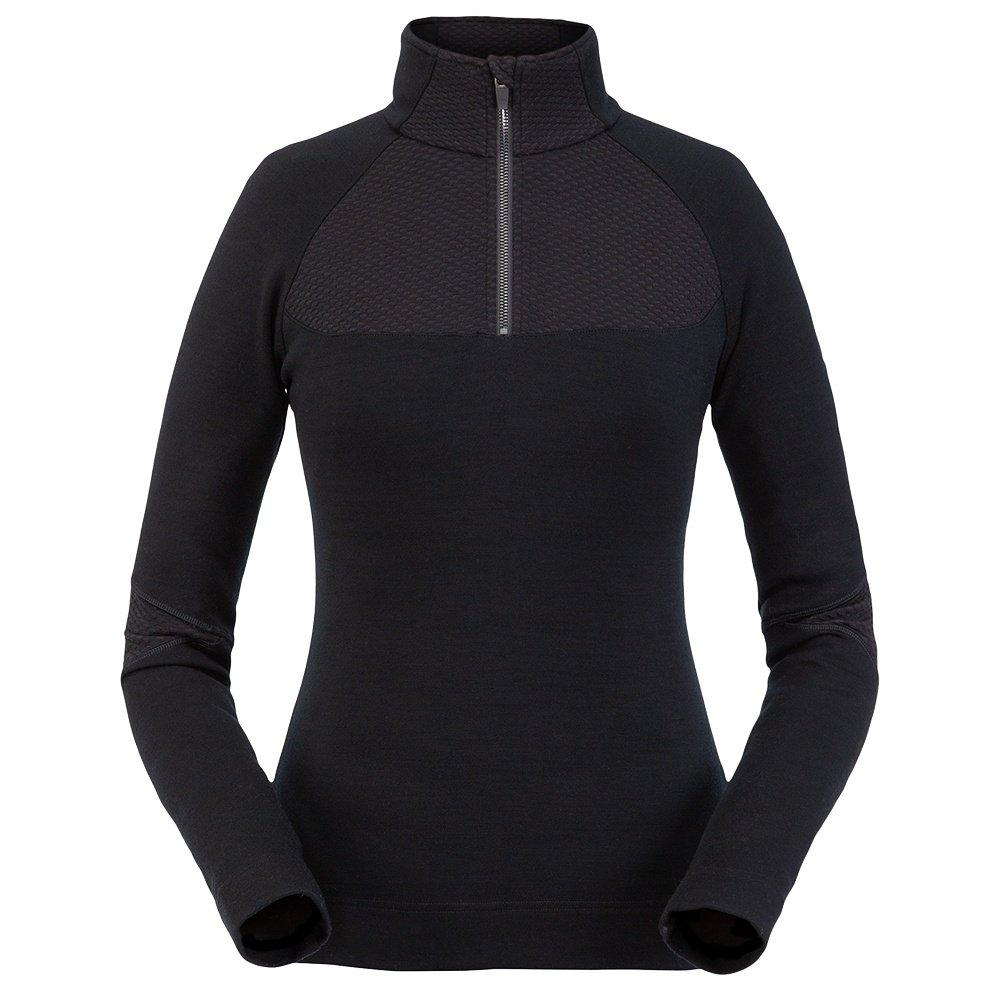 Spyder Posh Zip Turtleneck Mid-Layer (Women's) - Black