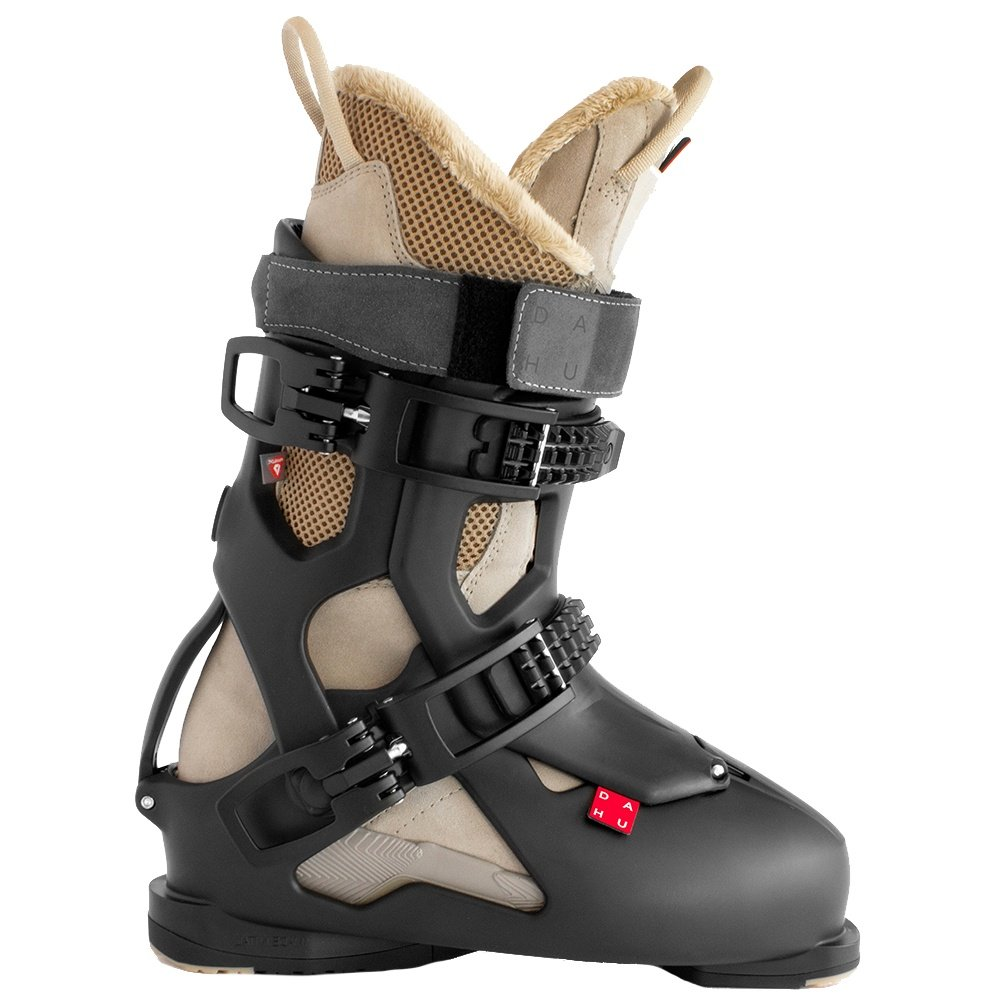 Dahu Ecorce 100 Ski Boot (Men's) - Basalt Black/Natural Camel