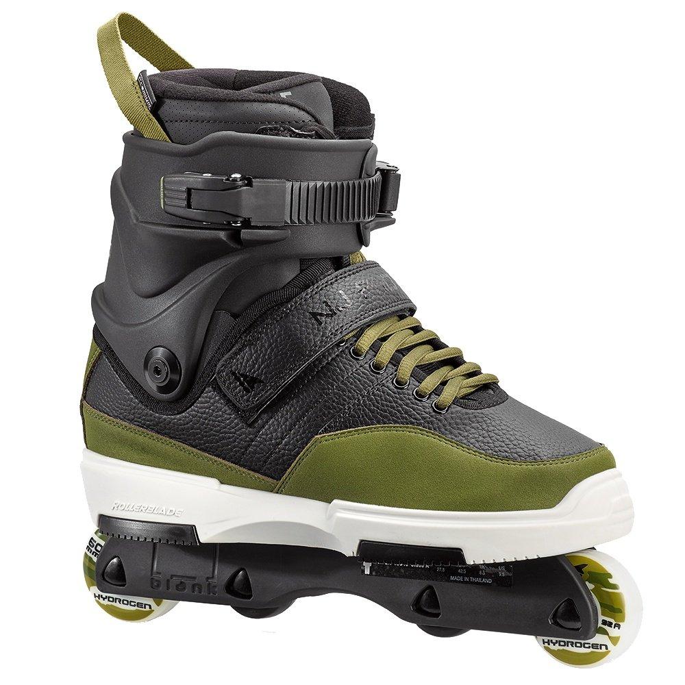 Rollerblade NJ Pro Inline Skate (Men's) - Black/Army Green