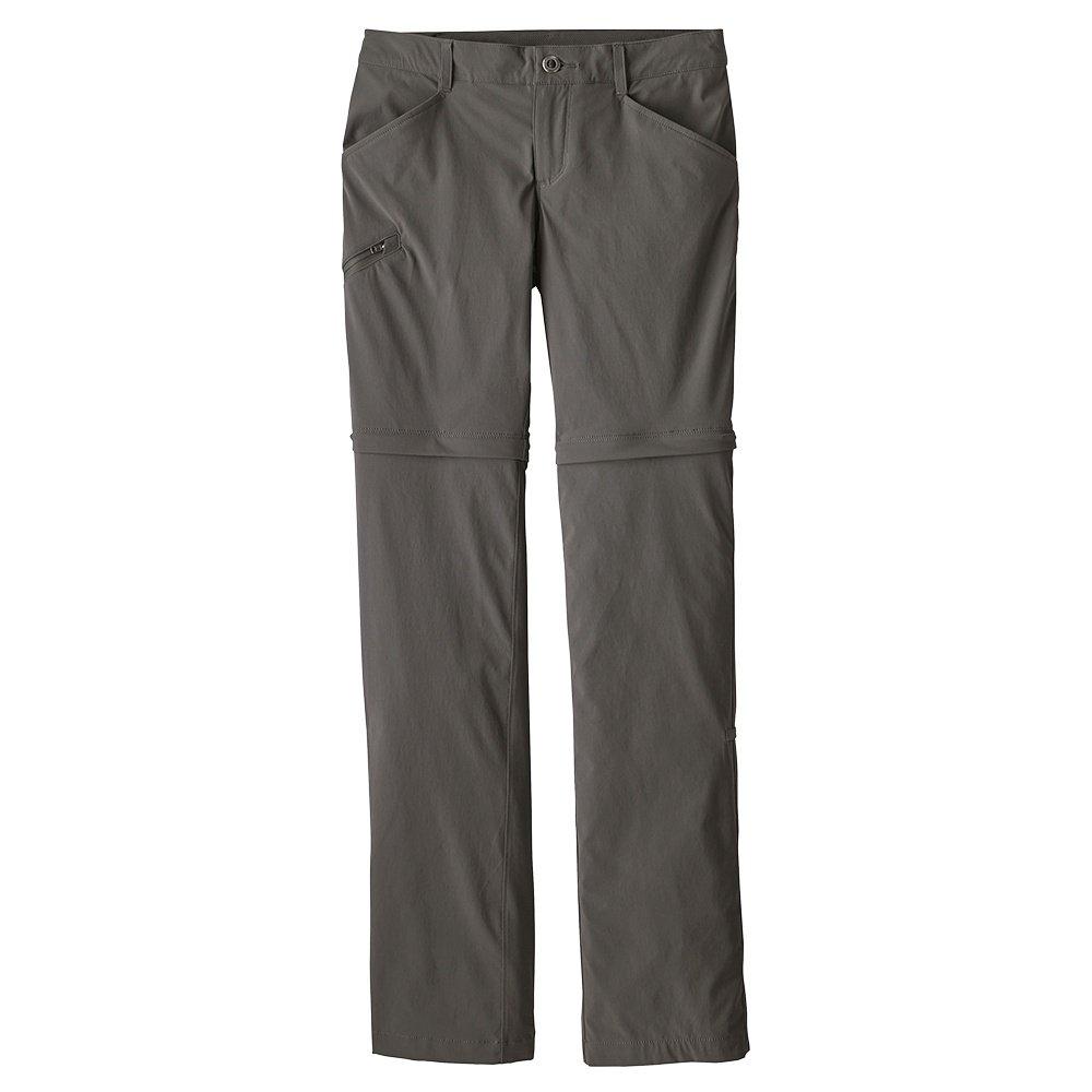 Patagonia Quandary Convertible Pants (Women's) - Forge Grey/Black
