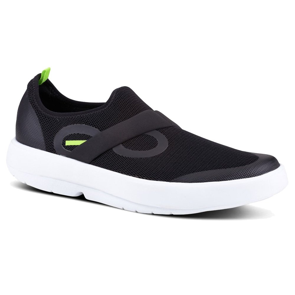 OOFOS OOmg Mesh Shoe (Men's) - White/Black
