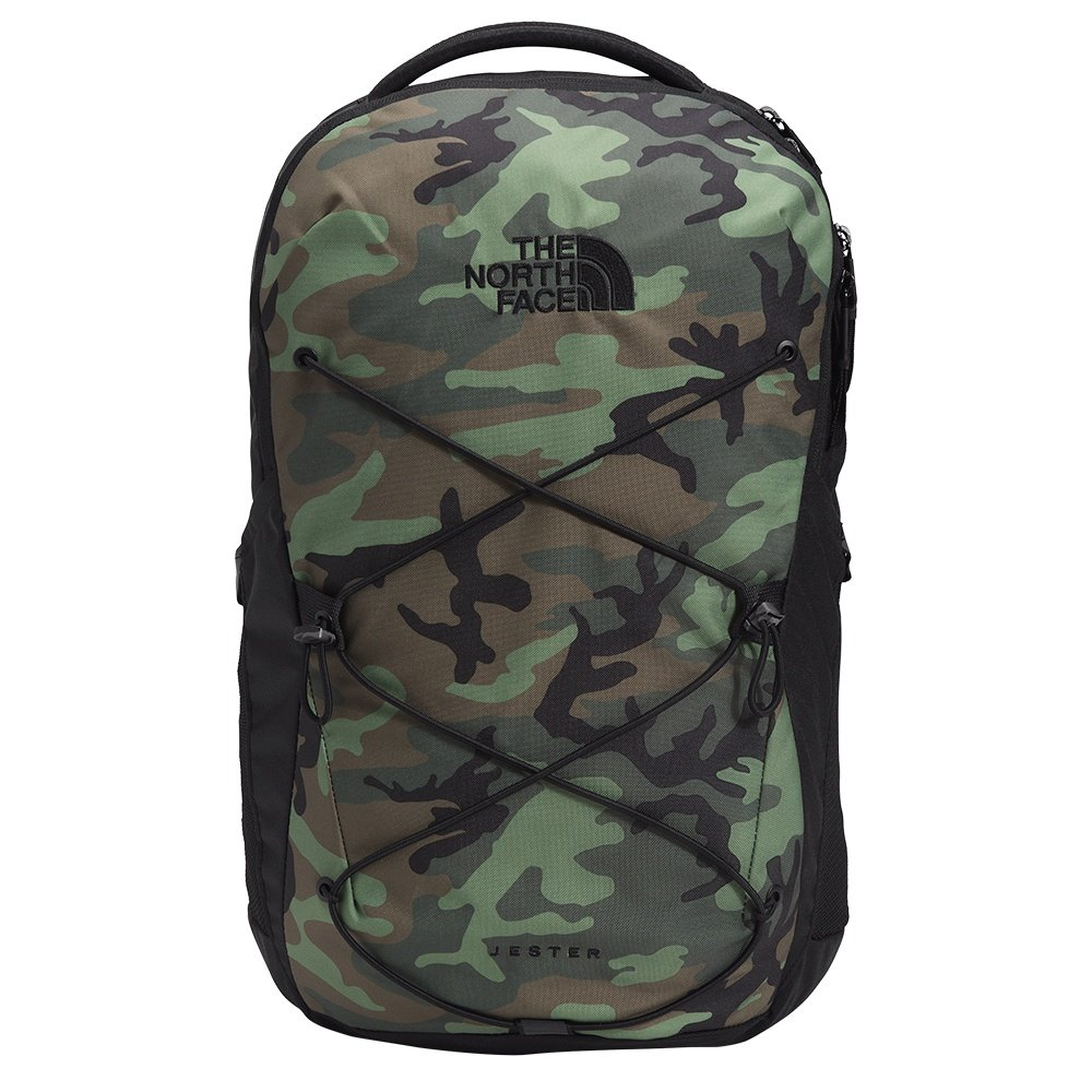 The North Face Jester Backpack (Men's) - Thyme Brushwood Camo/TNF Black
