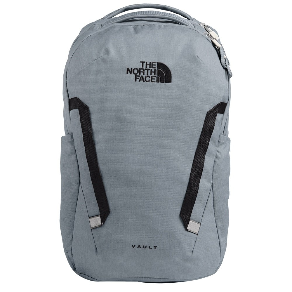 The North Face Vault Backpack (Men's) - Mid Heather Dark Grey/TNF Black