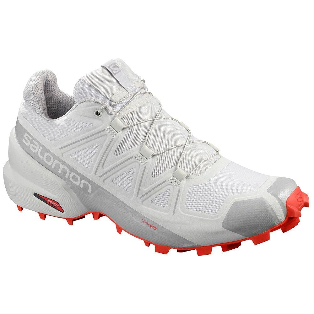Salomon Speedcross 5 Trail Running Shoe (Men's) - Vapor Blue/Cherry Tomato