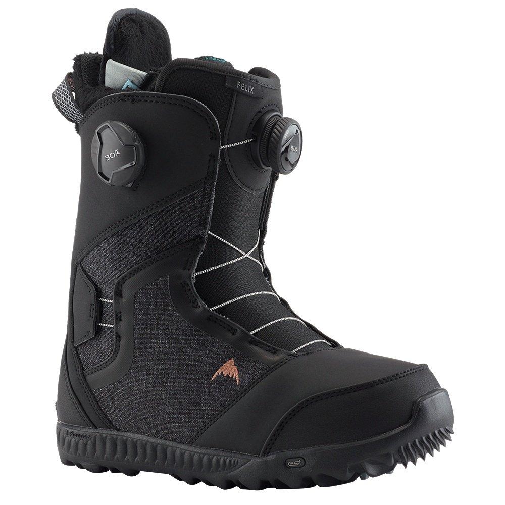 Burton Felix Boa Snowboard Boot (Women's) - Black