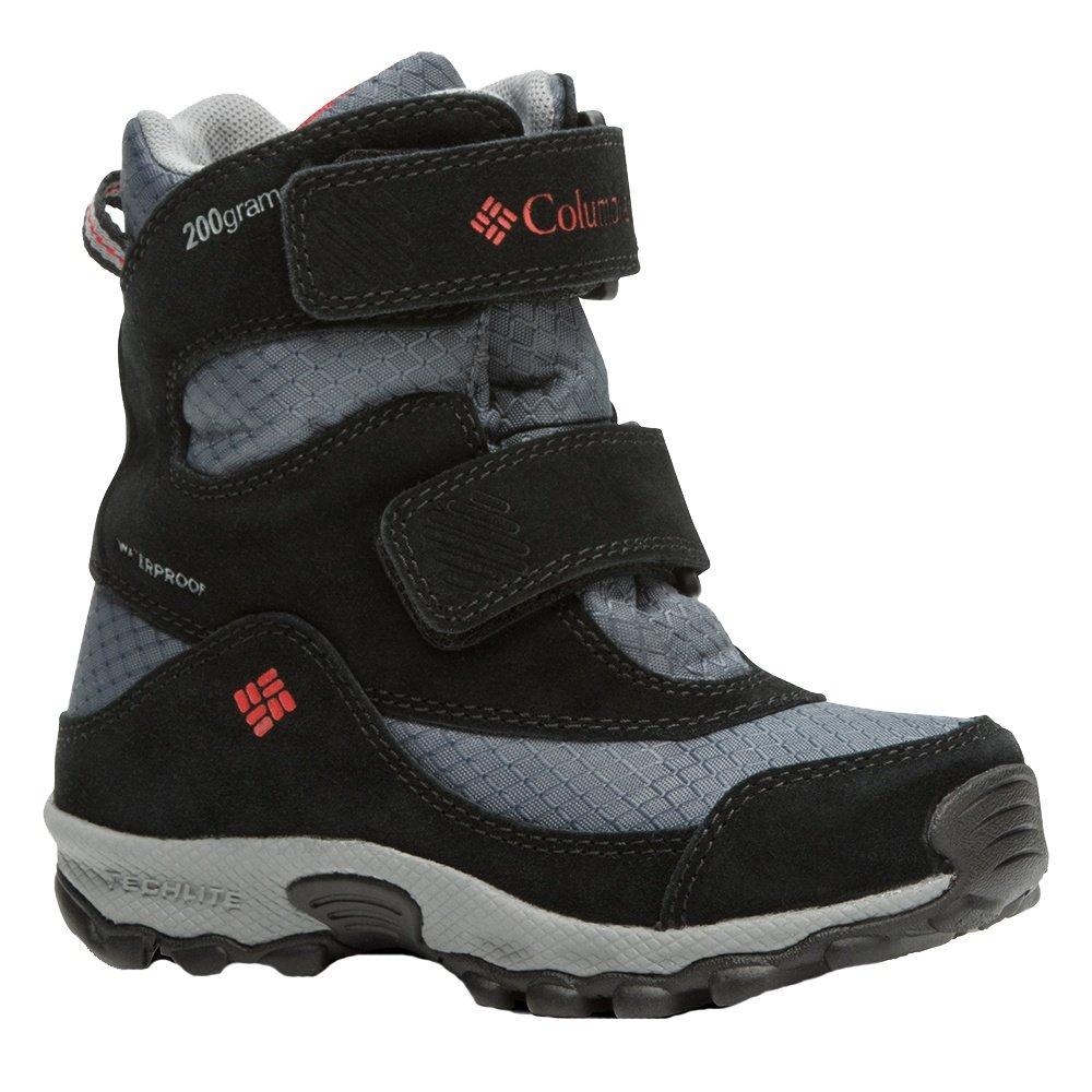 Columbia Parker Peak Boot (Kids') - Graphite/Bright Red