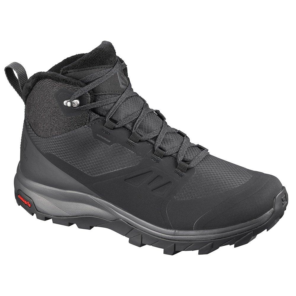 Salomon OUTsnap CS Waterproof Winter Boot (Women's) - Black