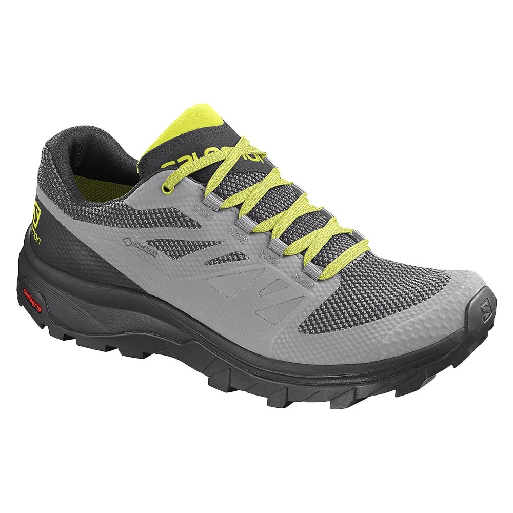 Salomon OUTline Low GORE-TEX Hiking Shoe (Men's) - Alloy/Black