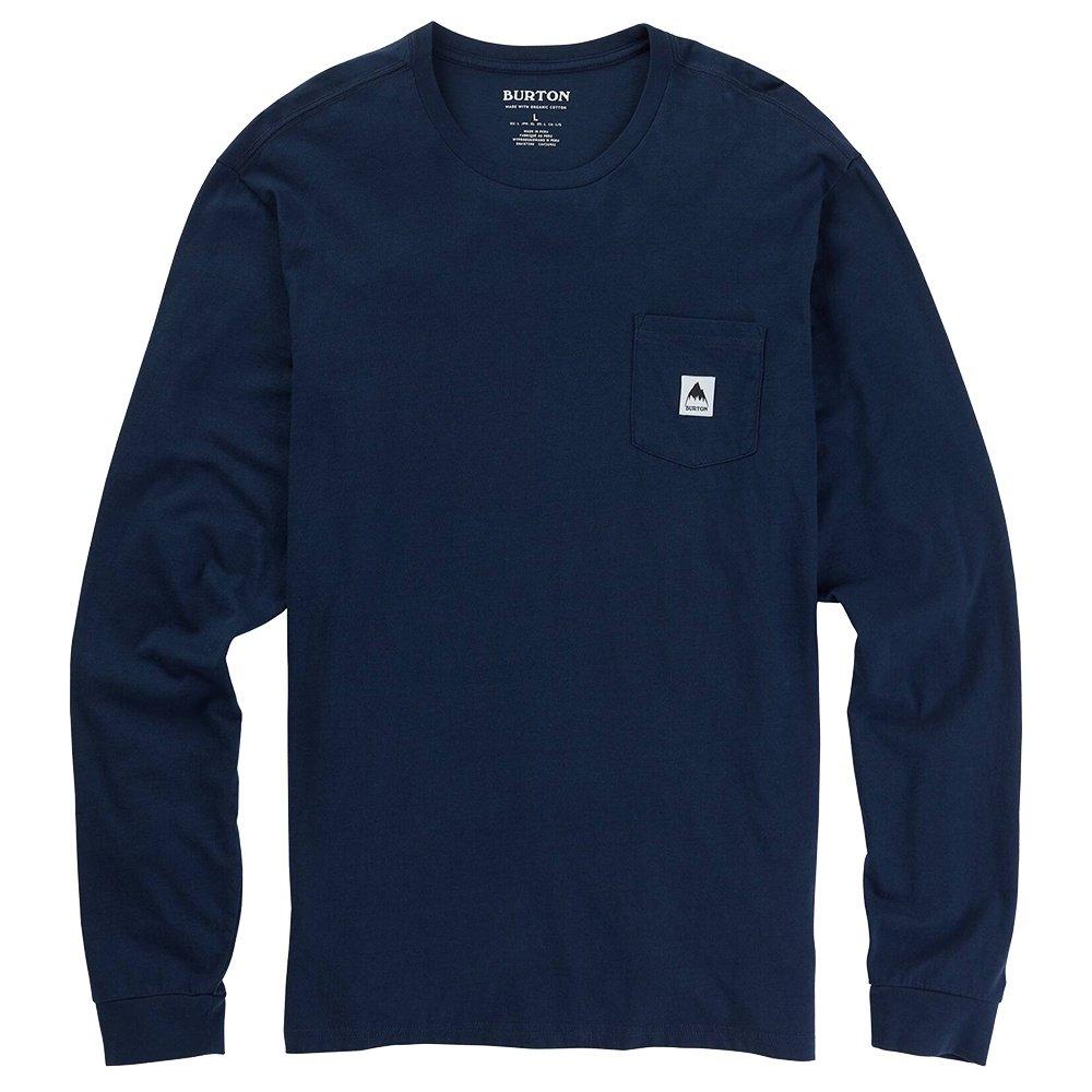Burton Colfax Long Sleeve Shirt (Men's) - Dress Blue