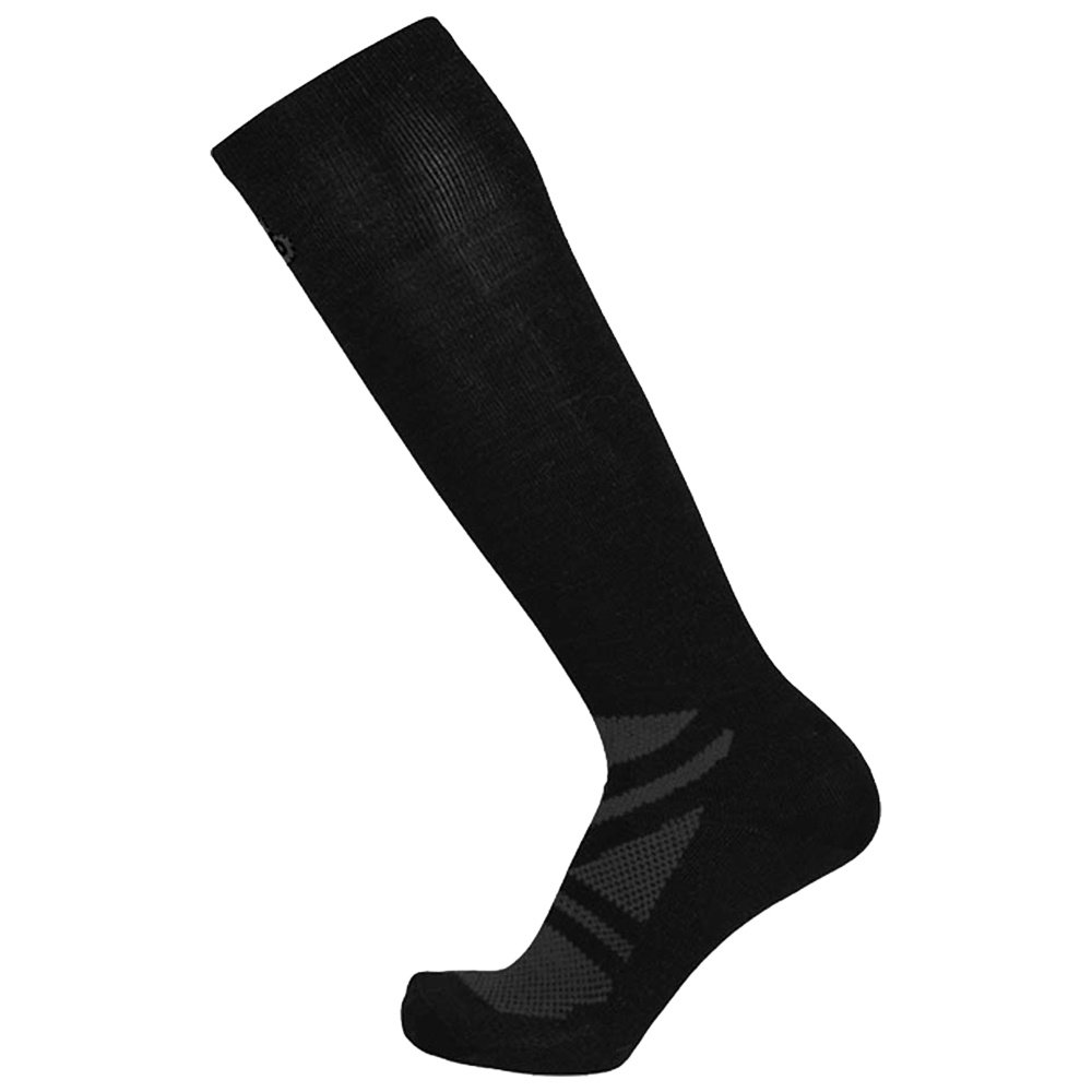 Point6 Vapor UL Ski Sock 2 Pack (Adults') - Black