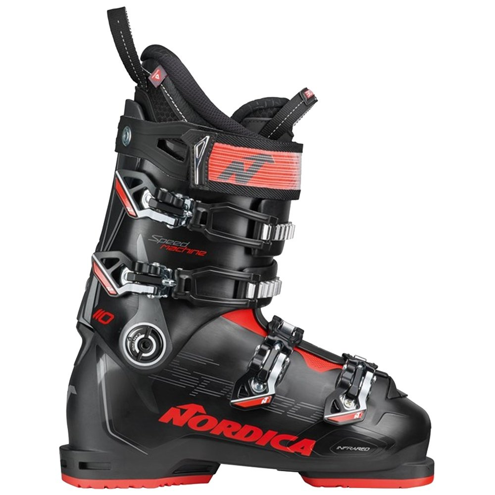 Nordica Speedmachine 110 Ski Boot (Men's) - Black/Red