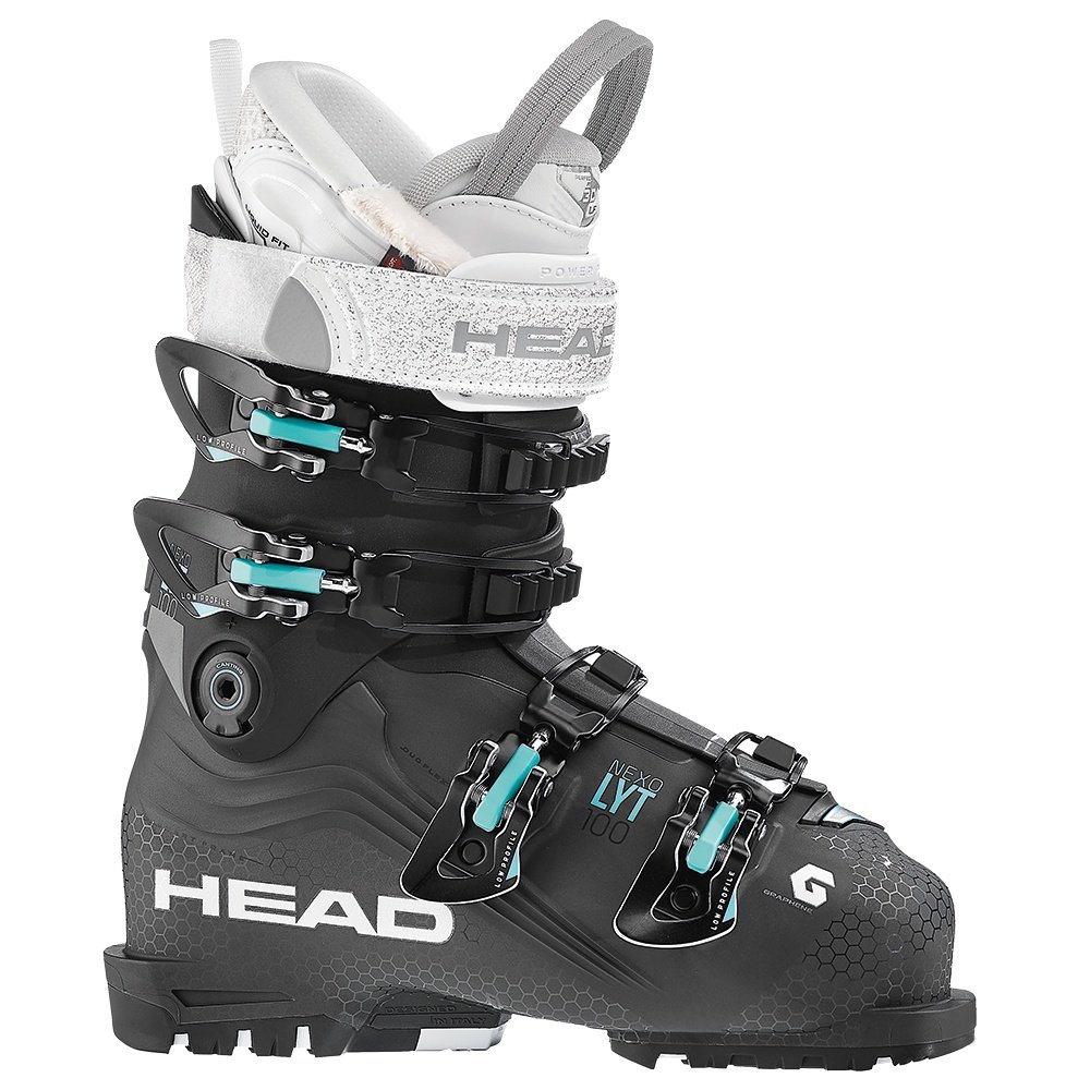 Head Nexo LYT 100 Ski Boot (Women's) - Anthracite/Black