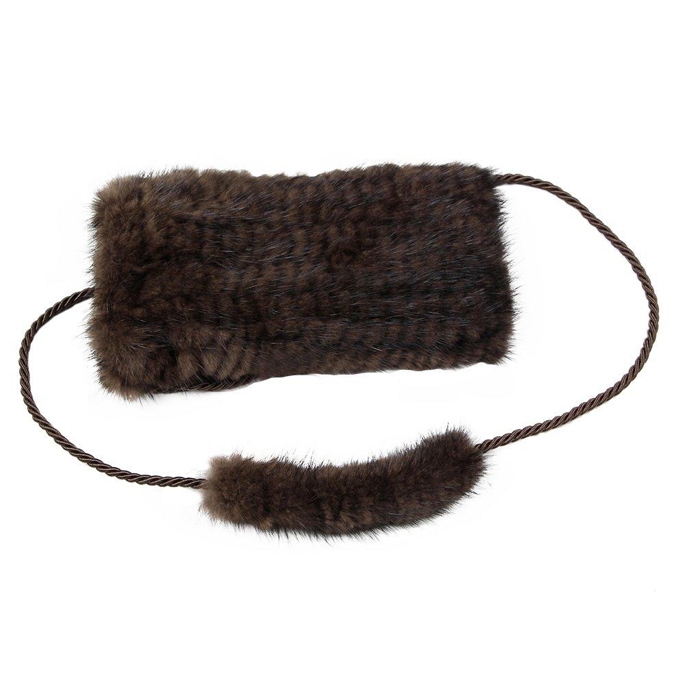 Peter Glenn Mink Mini Crossbody Bag - Brown