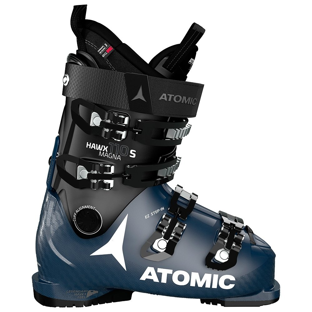 Atomic Hawx Magna 110 S Ski Boot (Men's) - Black/Dark Blue