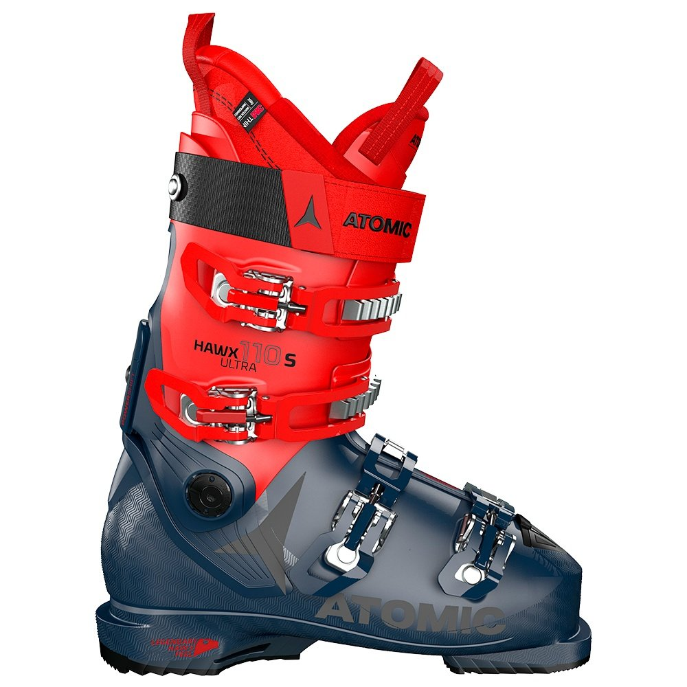 Atomic Hawx Ultra 110 S Ski Boot (Men's) - Dark Blue/Red